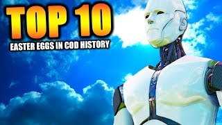 "Top 10 ""BEST EASTER EGGS"" in COD HISTORY 