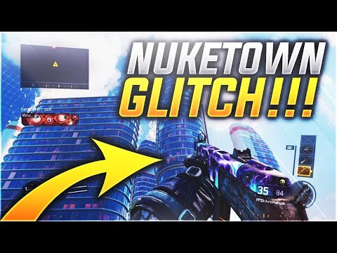 Der beste GLITCH auf NUKETOWN in BLACK OPS 3 !!!