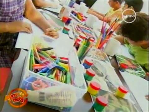 Concurso de afiches escolares - Amazonia Nuestras - Ayer y Hoy Canal 2