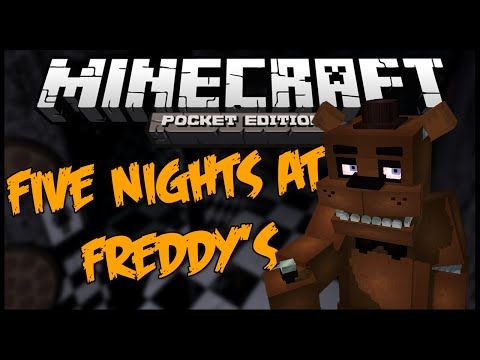 Minecraft PE FIVE NIGHTS AT FREDDYS