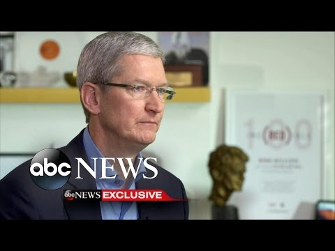 Tim Cook Says Creating iPhone-Cracking Software Is 'Equivalent of Cancer'