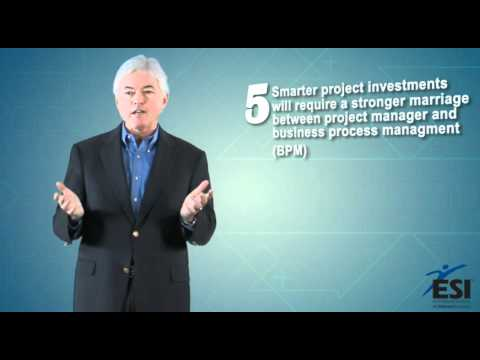 ESI International Top 10 Project Management Trends for 2012