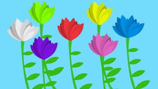 """The Flower Song"" - lullaby for learning colors (children"