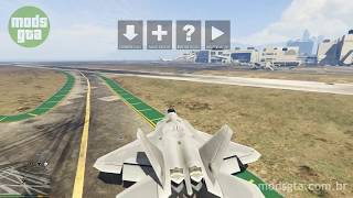 Mod do Lockheed Martin F-22 Raptor v1.5 para GTA 5