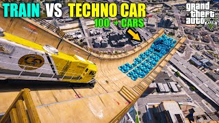 TECHNO GAMERZ 100 LAMBORGHINI SIAN VS 1 TRAIN | TECHNO GAMERZ NEW LAMBORGHINI | RG GAMER
