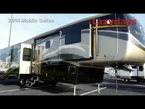 Luxury 2014 DRV Mobile Suites Rv from Lazydays located in Tampa FL