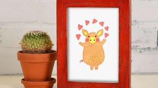 How To Draw A Funny Valentine's Day Pig - DIY Crafts Tutorial - Guidecentral