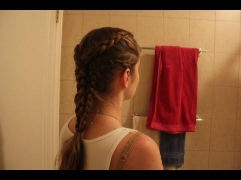 Game Of Thrones Daenerys Targaryen Inspired Hairstyle The Pyre Scene Braids Medium Hair