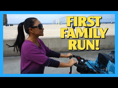 First Family Run!