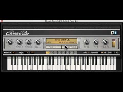 Bow chika wow retro 70s fun with Elektrik Piano Video