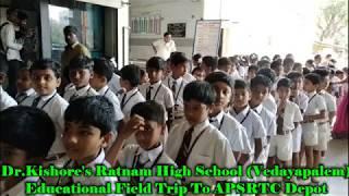 Educational Field Trip To APSRTC Depot
