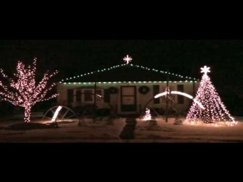 Hamster Dance Song-crazy Christmas Lights video