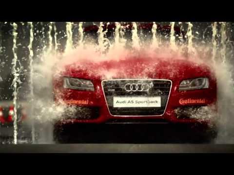Шикарная реклама автомобилей Audi. Креатив