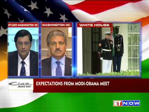Anand Mahindra Talks About  Modi-Obama Meet