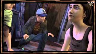 Atacan a clementine /the walking dead season 1
