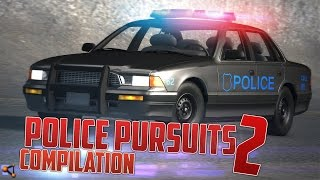 BeamNG.Drive Police Pursuits Compilation #2 - [Crashes and Rollovers - HD]