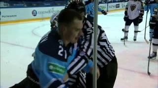 Бой КХЛ: Меньшиков VS Людучин / KHL Fight: Menshikov VS Lyuduchin