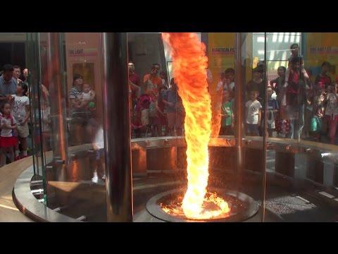Огненный торнадо - Огонь дьявола.