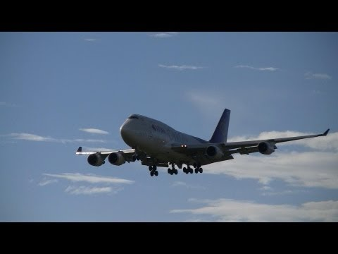 Thai Cargo Boeing 747-4D7(BCF) HS-TGH Landing at Narita