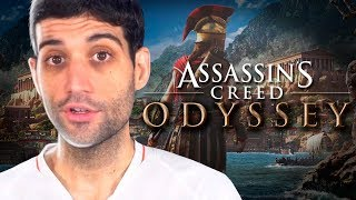Assassin's Creed Odyssey virou RPG, NOVO trailer, analisando as mudanças