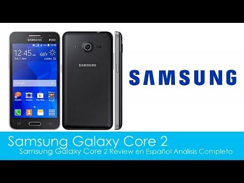 Samsung Galaxy Core 2 Review en Español Análisis Completo