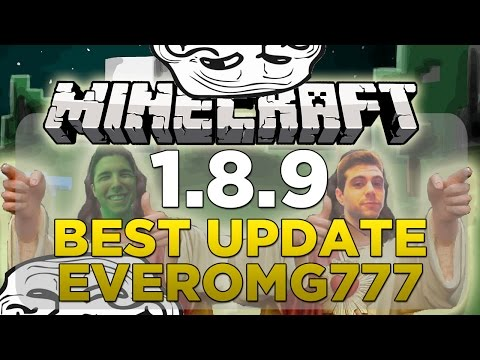 MINECRAFT 1.8.9 REVIEW | LA MEJOR BYREXOMG777 UPDATE DE MINECRAFT EVER | MINECRAFT 1.8.9