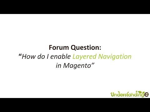 How to enable Layered Navigation in Magento for Specific Attributes