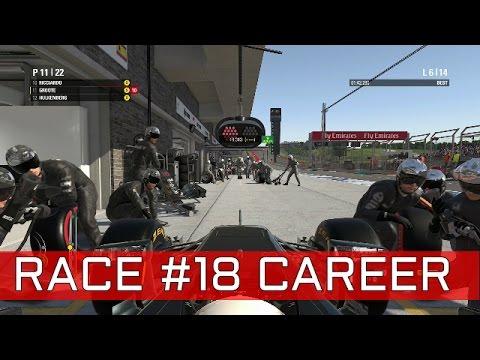 F1 2016 GAME: RACE #18 AMERIKA | KLOTE PITSTOP!! | BEUKEN MET WILLIAMS | NEDERLANDS/DUTCH