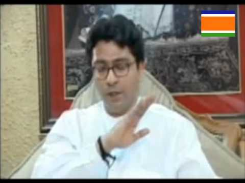 Mr Raj Thackeray first Hindi Interview (March 27 2006)