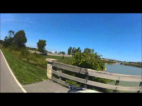 Riding Through Maumee Bay State Park  8/19/12