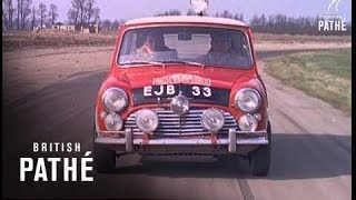 Driving Tips With Paddy Hopkirk Aka Paddy Hopkirk (1964)