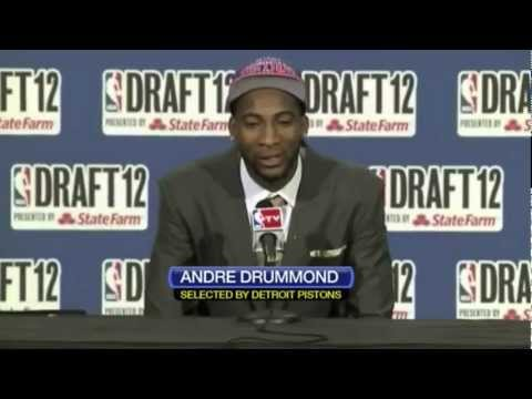 New Detroit Piston: Andre Drummond Mix