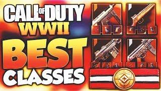 TOP 5 BEST CLASSES in Call of Duty WW2! (Best Class Setups) - WORLD WAR 2 BEST DIVISION CLASS SETUPS