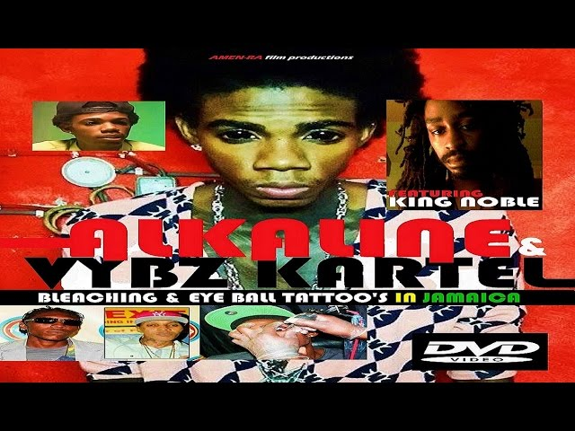 ALKALINE & VYBZ KARTEL BLEACHING & EYE BALL TATTOO'S IN JAMAICA (DVD) feat King Noble (HQ)