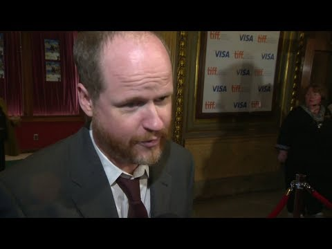 Joss Whedon on the MUCH ADO ABOUT NOTHING red carpet