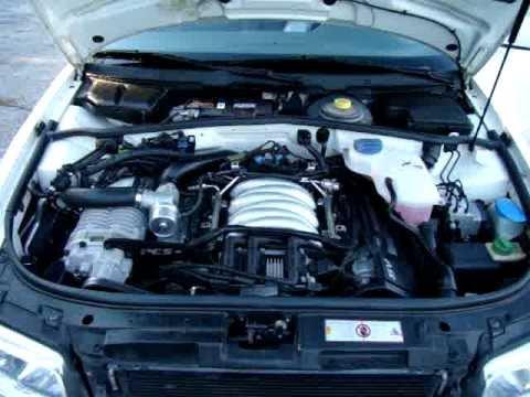 PES G1 Supercharger - 1999 Audi A4