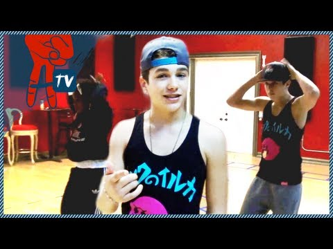 Austin Mahone Takeover - Austin Mahone's Choreography Lesson - Austin Mahone Takeover Ep. 2