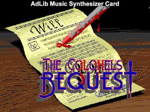 AdLib vs. Roland MT-32: The Colonel's Bequest (Laura Bow)