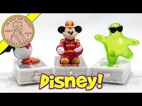McDonald's Retro Happy Meal Series - Disney's VHS Video Movie Favorites Toy Set, 1998