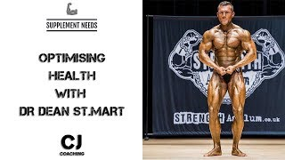 SUPPLEMENTS FOR OPTIMISING HEALTH WITH DR DEAN ST MART