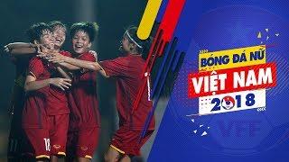 U19 nữ Việt Nam có chiến thắng đầu tiên tại VL U19 nữ Châu Á 2019| VFF Channel