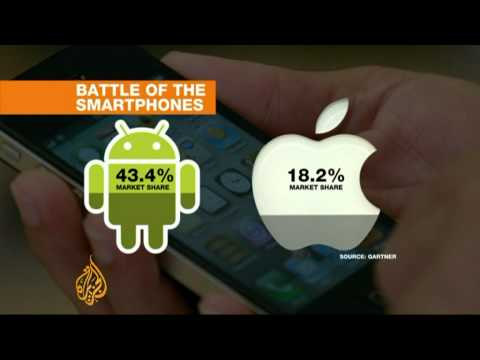 Smartphone wars show no sign of slowing