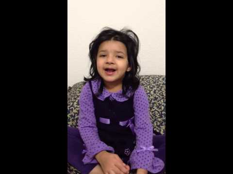 Sehar Singing Aloo Kachaloo Mian video