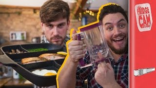 5 AMAZING Kitchen Gadgets | FridgeCam
