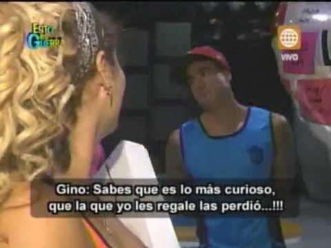 Esto es Guerra: Gino Assereto celoso por admirador de Michelle - 09/04/2013
