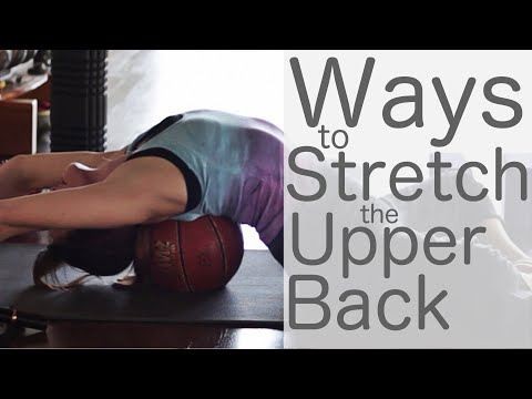 Ways to Stretch Upper Back Yoga with Lesley Fightmaster