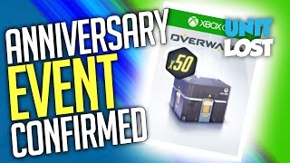 Overwatch Anniversary Event XBOX LEAK!! LOOT BOXES! Event CONFIRMED!