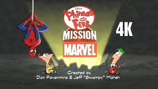 Download Phineas and Ferb: Mission Marvel - Intro 4K (2160p) 3Gp Mp4