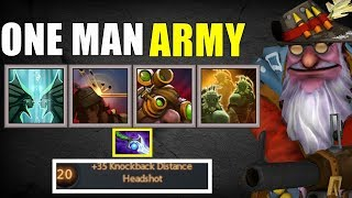 One Man Army Sniper Sick Build | Dota 2 Ability Draft