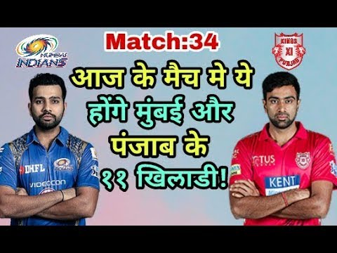 MI Vs KXIP IPL 2018: Mumbai Indians Vs Kings Eleven Punjab Predicted Playing Eleven (XI)